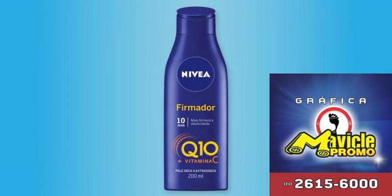 Nivea lança Hidratante Signatário Q10   Guia da Farmácia   Imã de geladeira e Gráfica Mavicle Promo