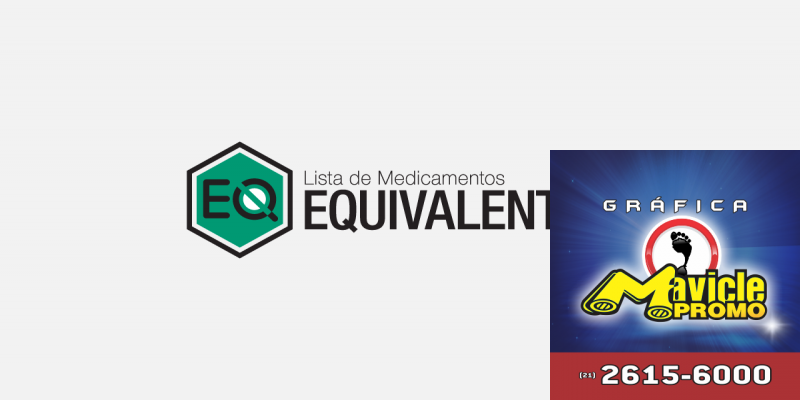 A aplicação Equivalentes já está disponível para dispositivos móveis   Guia da Farmácia   Imã de geladeira e Gráfica Mavicle Promo