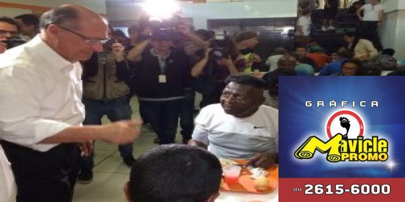 Alckmin diz que, se eleito, vai pagar metade do preço do botijão de gás de 8 milhões de famílias mais pobres
