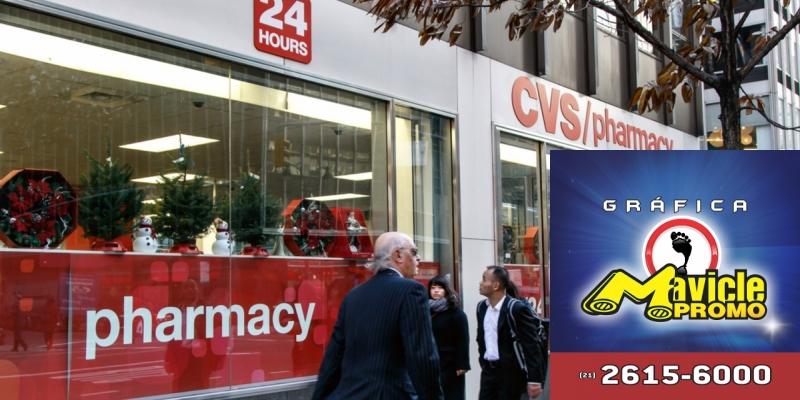 b766284be3a CVC Health aposta em serviços farmacêuticos Guia da Farmácia Imã de  geladeira e Gráfica Mavicle Promo