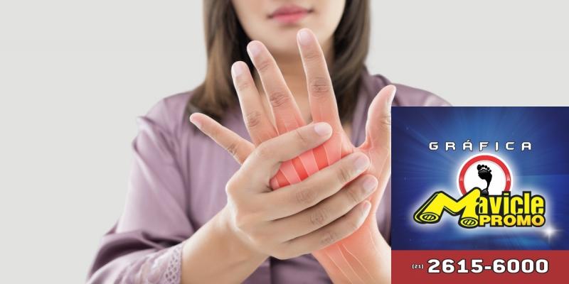 Entender os impactos da artrite reumatóide Guia da Farmácia   Imã de geladeira e Gráfica Mavicle Promo