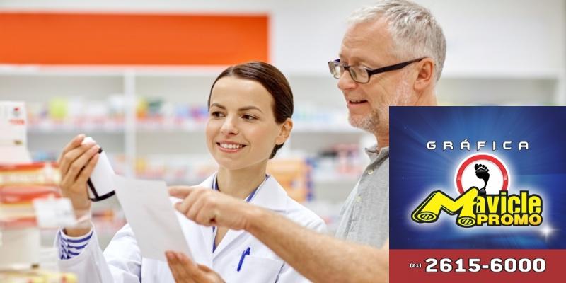 Redes de farmácias na campanha contra a diabetes   Guia da Farmácia   Imã de geladeira e Gráfica Mavicle Promo