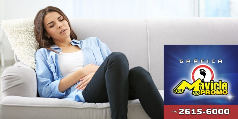 Desmistificando a endometriose   Guia da Farmácia   Imã de geladeira e Gráfica Mavicle Promo