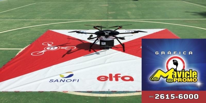 Distribuidora de laboratório e investem nas entregas por aviões não tripulados   ASCOFERJ