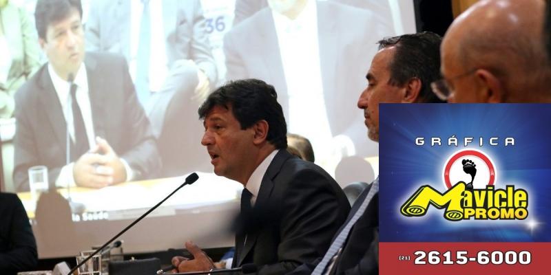Mandetta assume o Ministério da Saúde anuncia medidas   Imã de geladeira e Gráfica Mavicle Promo