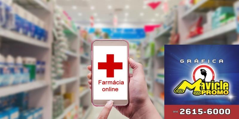 O comércio on line de medicamentos, só tem 110 operadores
