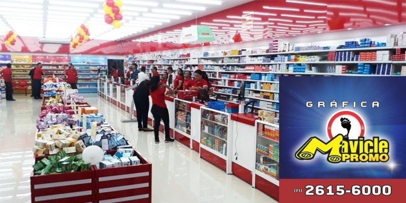 Ultra Popular abre farmácias de 1.000 m2   Guia da Farmácia   Imã de geladeira e Gráfica Mavicle Promo