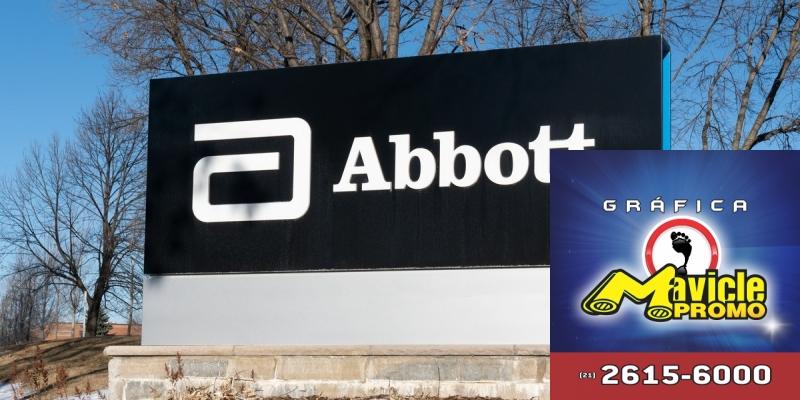 Vendas mundiais de Abbott crescem 11,6%, em 2018   Guia da Farmácia   Imã de geladeira e Gráfica Mavicle Promo