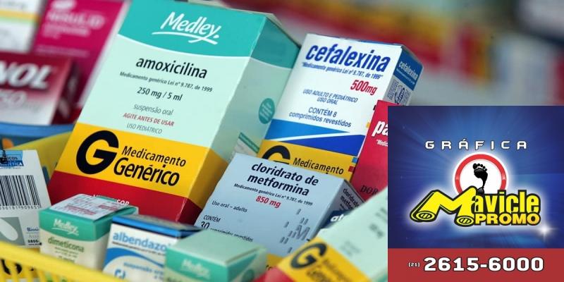 Genéricos representam 33,7% do mercado de medicamentos