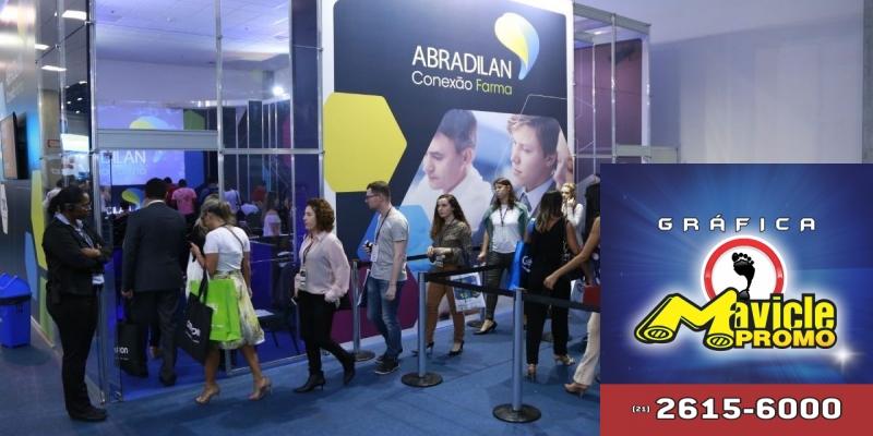 15ª Abradilan Acesso Farma começa amanhã   Guia da Farmácia   Imã de geladeira e Gráfica Mavicle Promo