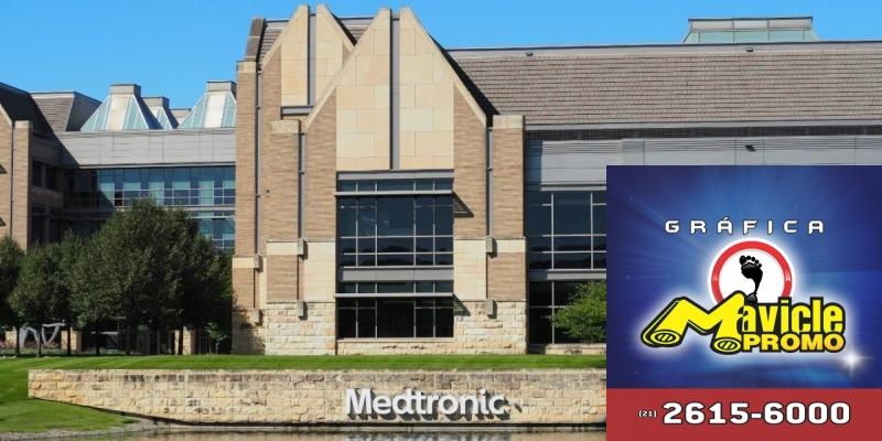 A Medtronic anuncia o novo dispositivo para a aplicação de insulina   Imã de geladeira e Gráfica Mavicle Promo
