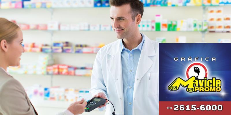 Compra na farmácia: conversão e ganho   Guia da Farmácia   Imã de geladeira e Gráfica Mavicle Promo