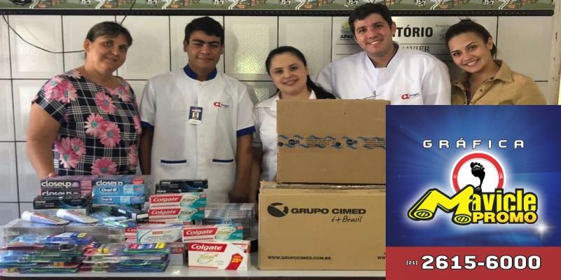 Colaboradores da Rede Drogal Dois Córregos realizam campanha de angariação de fundos para as entidades assistenciais