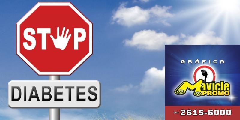 Na Diabetes mellitus tipo 2: Novo Nordisk apresenta se um novo medicamento   Imã de geladeira e Gráfica Mavicle Promo