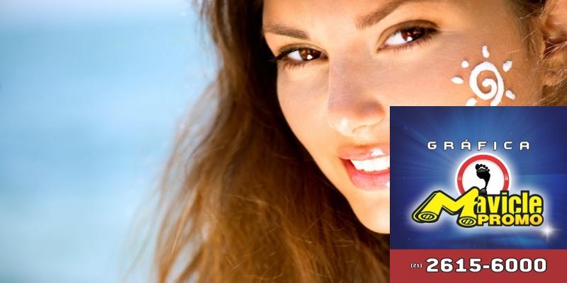 Vitamina D: os estudos indicam que o creme de proteção solar, não impede a produção de   Imã de geladeira e Gráfica Mavicle Promo
