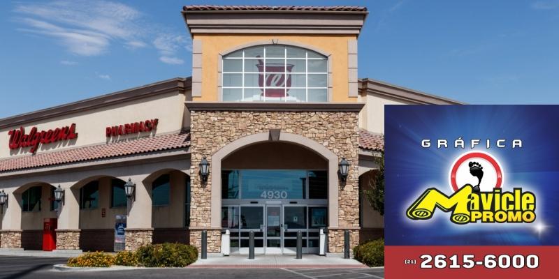 Walgreens Alliance Boots, que tem uma das receitas de vendas e queda de rendimento   Imã de geladeira e Gráfica Mavicle Promo