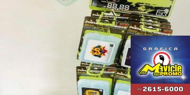 Porta comprimidos semanal clip iourbox display